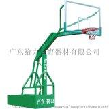 戶外移動籃球架配透明防爆膜籃球板給力體育廠家