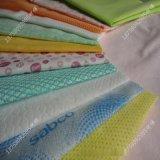 富瑞森产地货源全棉水刺无纺布_新价定制多种涤纶印花无纺水刺布