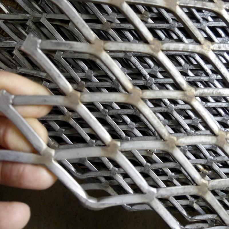 钢板冲孔网 菱形建筑网 不锈钢板网 金属筛网
