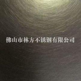 山东聊城201/304青古铜乱纹不锈钢板加工 不锈钢发黑和文工程装饰板定做