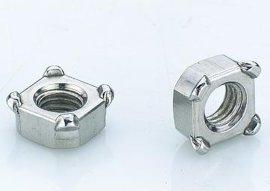 四方焊接螺母M4~M12(碳钢,不锈钢201,304)