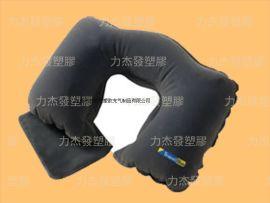 PVC充气植绒枕头