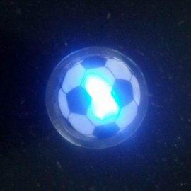 LED闪光胸章 PVC发光胸章 广告促销小礼品