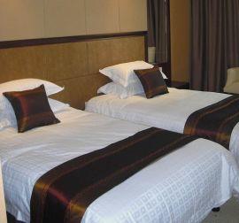 酒店賓館專業布草 純棉貢緞面料被套牀單枕套