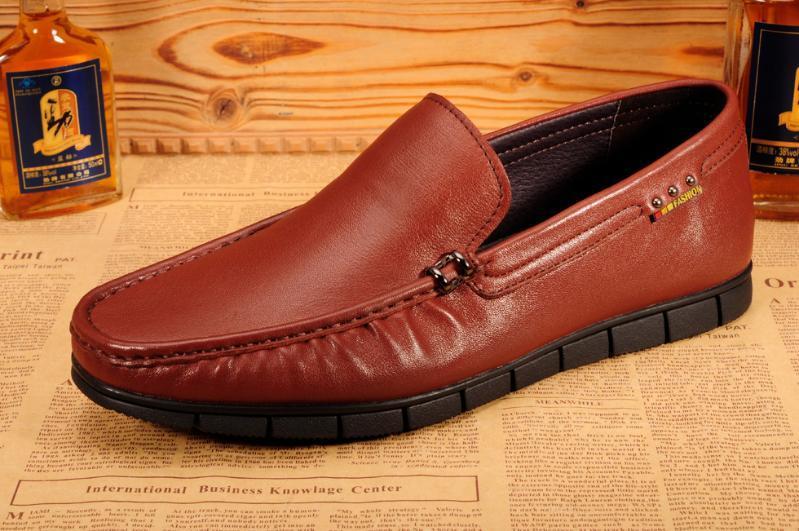 外贸鞋工厂 广州鞋 男鞋批发 真皮商务男鞋厂家