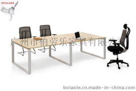 小型会议桌,胶板会议桌,广州伯劳乐办公家具