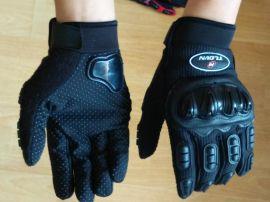 秋季新款摩托車賽車長指透氣,舒適手套,戶外手套