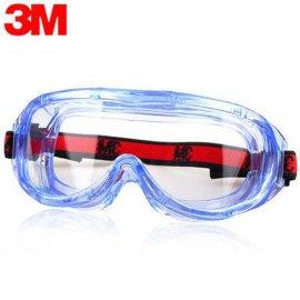 3M1623AF防雾舒适型防冲击 ,防沙尘护目镜 ,防护眼镜