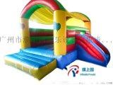 小型兒童運動跳牀充氣城堡玩具