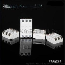 SMD5050红外发射管 三芯片940NM无红爆红外贴片灯