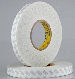 正品白色透明导热泡棉高粘度热熔耐高温泡沫3M双面胶