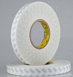 **白色透明导热泡棉高粘度热熔耐高温泡沫3M双面胶