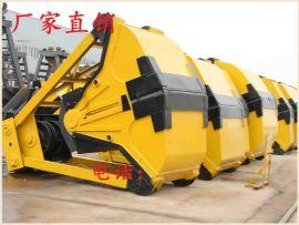 双绳抓斗S1020配用10吨起重机,双葫芦抓斗,抓煤斗,物料斗