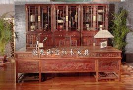 西安仿古家具,实木办公桌,老榆木办公桌,红木办公桌