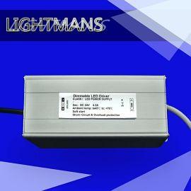 LED恒压防水24V 75w可控硅调光电源