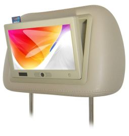 7寸头枕MP4广告机显示器带读卡人体感应(TX-207MP4)