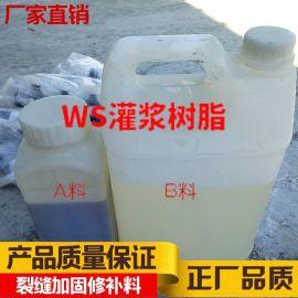 批发细微结构裂缝修补胶 改性环氧树脂灌浆料 化学补强AB灌浆树脂
