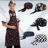 日式料理店店廚師帽頭巾廚房工作帽中西餐服務員海盜帽韓式包頭帽