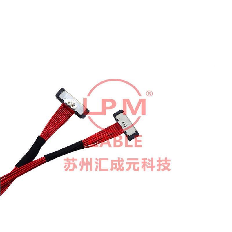 苏州汇成元供I-PEX 20497-040T-3020498-040E-41极细同轴高清屏线