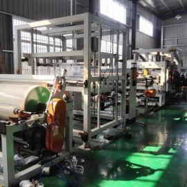 TPU板材生产线设备 TPU板片材挤出机