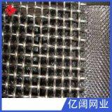 廠家直銷篩選設備用振動篩網 現貨可定製金屬錳鋼軋花網編織網