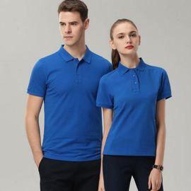 夏季工作服定制t恤短袖工衣服装diy企业文化广告polo衫刺绣印logo