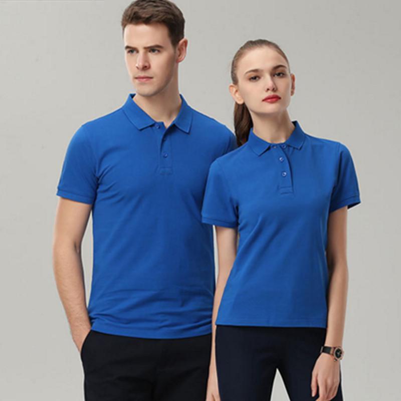 夏季工作服定製t恤短袖工衣服裝diy企業文化廣告polo衫刺繡印logo