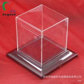 有机玻璃加工厂定做亚克力礼品防尘罩透明手办模型展示盒汽车珠宝