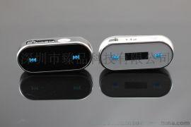 新款苹果迷你FM发射器 iphone发射器,免提FM发射器,车载发射器