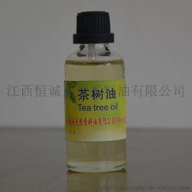 茶樹油專業廠家生產符合藥典標準單方精油白千層油消除疤痕殺菌