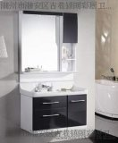廠家直銷批發朗彩衛浴8030 實木浴室櫃 高亮光鋼琴烤漆 時尚潮流浴室傢俱 衛浴鏡
