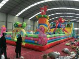 江蘇泰州廣場新款兒童充氣城堡廠家直銷多買多優惠哦