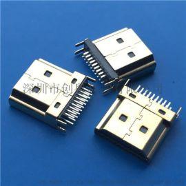 HDMI  夹板焊线