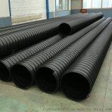 圣大管业钢带增强pe螺旋波纹管市政排水