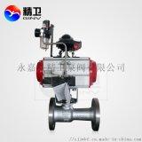 一体式气动高温球阀 Q641SM-16P