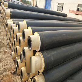 自贡 鑫龙日升 预制直埋保温管道DN350/377 塑套钢聚氨酯发泡保温管