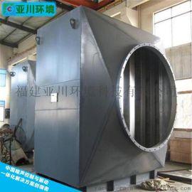 厂家直销消音设备轴流风机噪音治理消音器轴流风机消音器