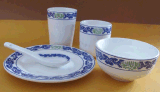 陶瓷碗/碟子/盤子加工廠訂單定製陶瓷食具消毒食具批發價格