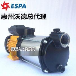 亚士霸PRISMA35 3M泵ESPA不锈钢泵1.5KW多级泵