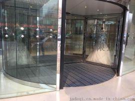 赛瑞模块拼装式除尘地垫-酒店旋转门入口