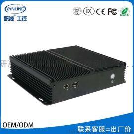 研凌工控电脑IBOX-203 J1900无风扇嵌入式工控机 厂家直销科定制