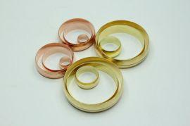定制铜管道密封圈密封介子铜垫圈