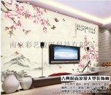 UV平板打印机 瓷砖背景墙打印机 彩艺平板打印机厂家