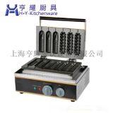 上海玉米香酥機廠家|小型香酥機價格|臺式六格電熱香酥機|五格梅花形香酥機