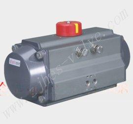 AT系列气动执行器角行程铝合金气缸阀门驱动装置A系列单作用