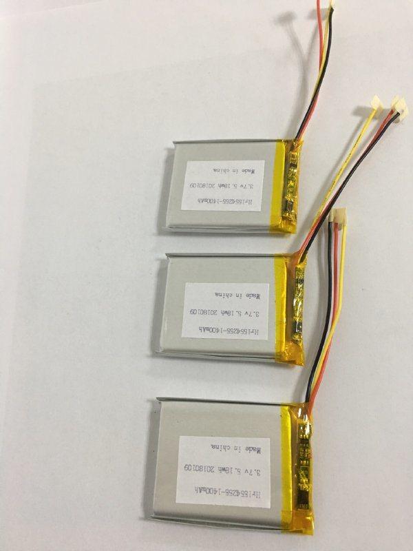 553743- 800mah 聚合物锂电池