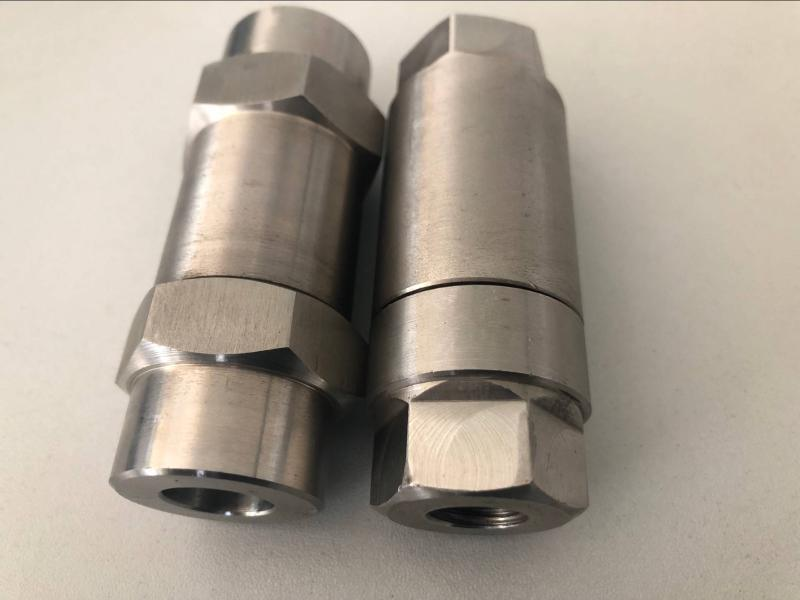 H11W內螺紋單向閥 不鏽鋼高壓止回閥 壓力錶止回閥 內螺紋單向閥廠家