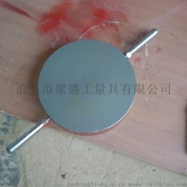 泊头铸铁圆平台   铸铁T型槽圆平板平台 划线平板