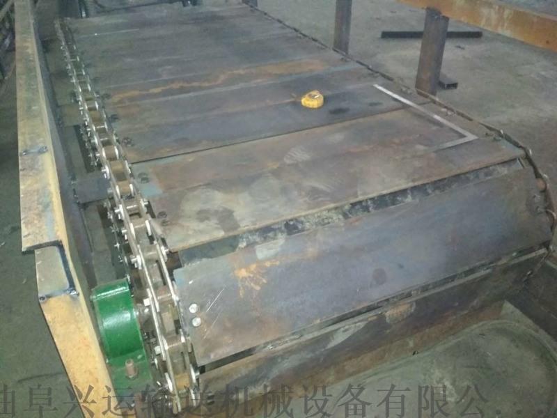 山東鏈板輸送機怎麼樣耐磨 加寬鏈板輸送機圖片出售廠家