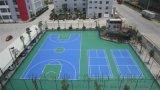 丙烯酸深圳廠家運動地板長河硅PU 塑膠場地 網球場